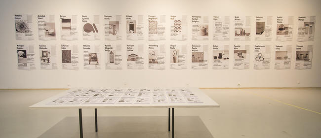 Exhibition of female designers in HDD Gallery