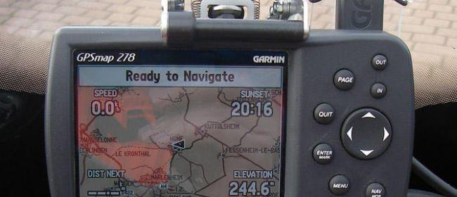 Garmin GPS 276 C plotter