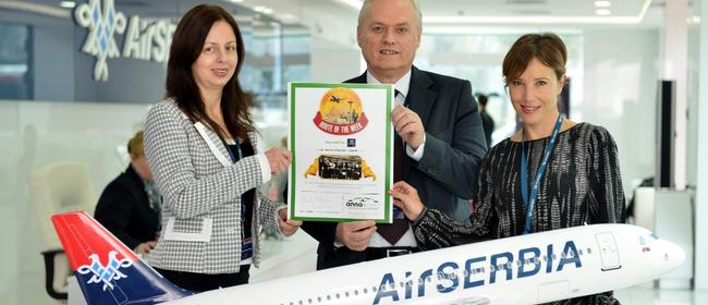Air Serbia's new route