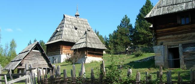 Old village Sirogojno