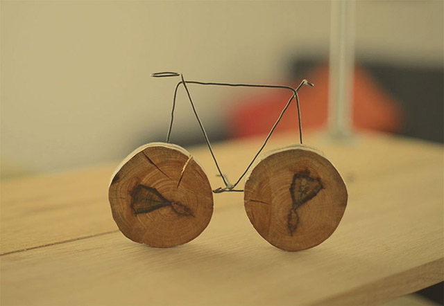 Nikolina Ocko bicycle sculpture