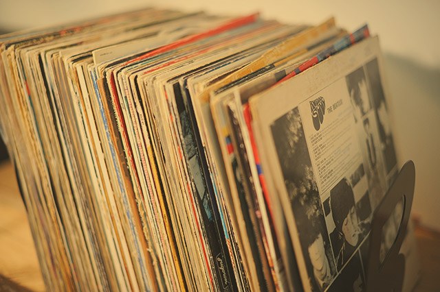 LP records collection