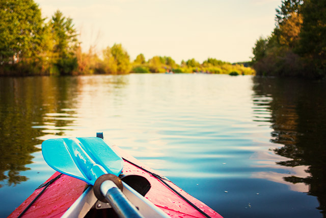 Kayaking and stand up paddling